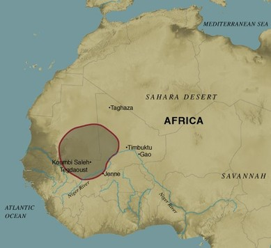 Africa: Ancient Ghana - The Medieval Ages (330-1629)